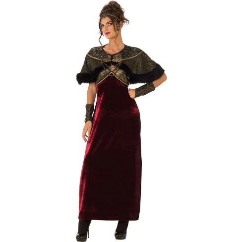 Milady Castle Medieval Renaissance Lady Fancy Dress Up Halloween Adult Costume