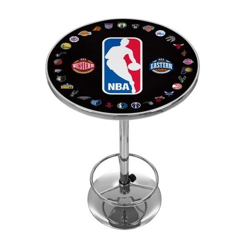 NBA All Teams Pub Table - Chrome - image 1 of 3