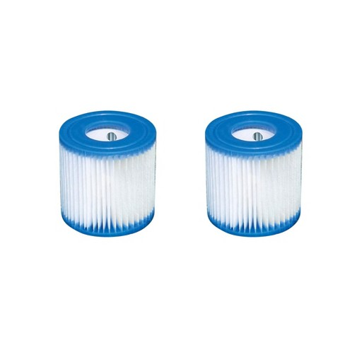 Intex Swimming Pool Easy Set Filter Cartridge Replacement - Type H (2 Pack)