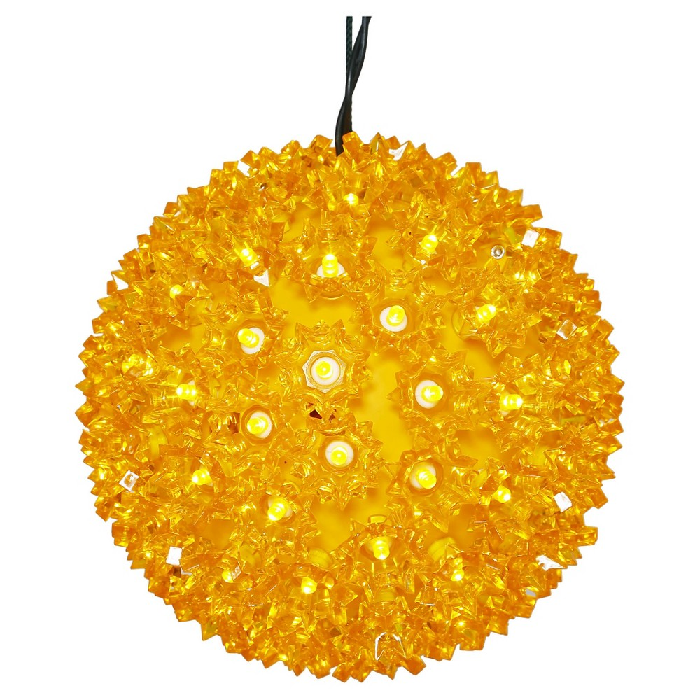 "Image of ""100ct x 7.5"""" LED Starlight Sphere - Gold"""