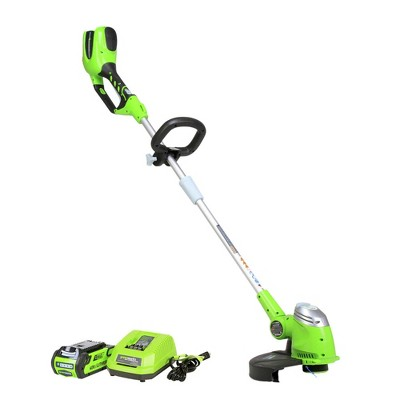 Greenworks 21302 40V GMAX Lithium-Ion 13 in. Straight Shaft String Trimmer