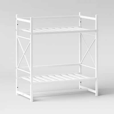 Square Tube Decorative Wall Shelf White - Threshold™