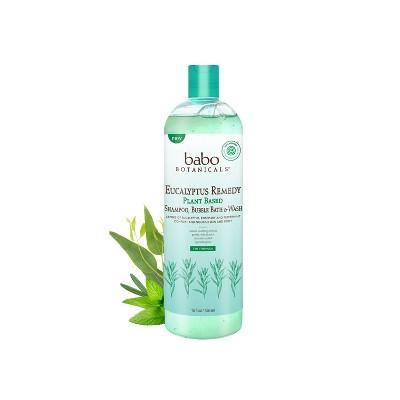 Babo Botanicals Eucalyptus Remedy Shampoo Bubble Bath & Wash - 15 fl oz