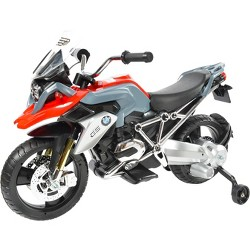 Rollplay BMW 6V Motorcycle - Red/Gray