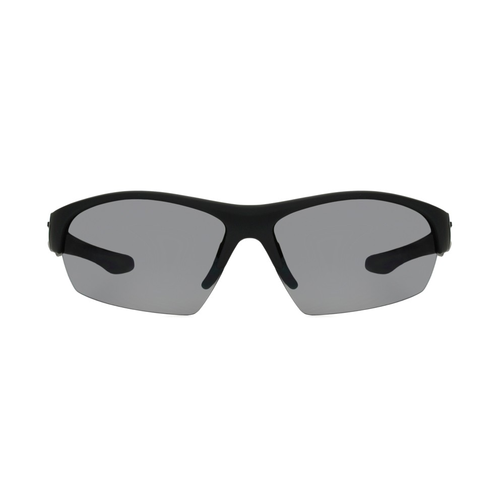 Image of Foster Grant Men's Rectangle Sunglasses - Black, Size: Small