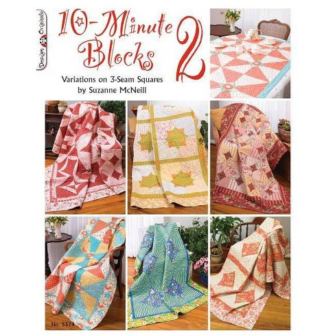 10-Minute Blocks 2 - by  Suzanne McNeill (Paperback) - image 1 of 1