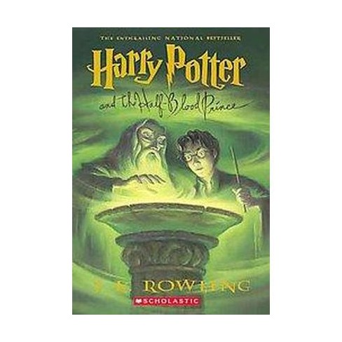 Image result for Harry Potter and the Half-Blood Prince book cover