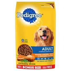 Pedigree® Adult Complete Nutrition Chicken Flavor Dry Dog Food