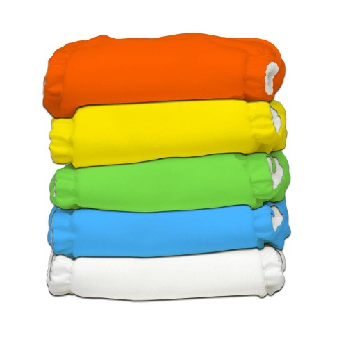 Charlie Banana 5pk Reusable All-in-One Cloth Diapers - New Tango Mango - image 1 of 4