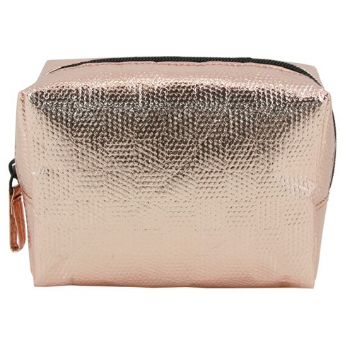 Contents Organizer Assorted Rose Gold/ Gold Make up Bag - image 1 of 4
