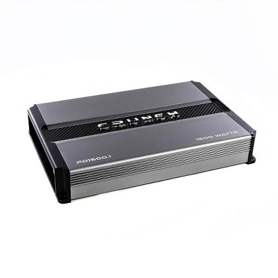 Crunch Power Drive 1500W Max Monoblock Class D Car Audio Amplifier   PD1500.1