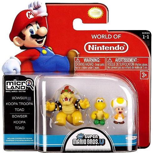 World Of Nintendo New Super Mario Bros U Micro Land Series 1