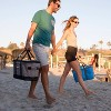 CleverMade Tahoe Soft Sided Leakproof Collapsible 32qt Cooler Bag - Light Gray/Denim - image 4 of 4