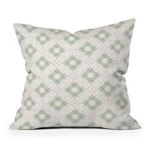 16 X16 Jacqueline Maldonado Watercolor Shibori Boho Square Throw Pillow Deny Designs Target