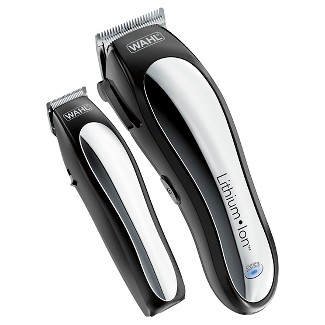 Wahl Lithium Ion Pro Mens Cordless Haircut Kit with Finishing Trimmer & Soft Storage Case-79600-3301