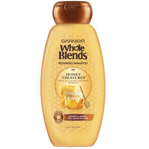 Garnier Whole Blends Honey Treasures Repairing Shampoo - 22 fl oz - image 1 of 4