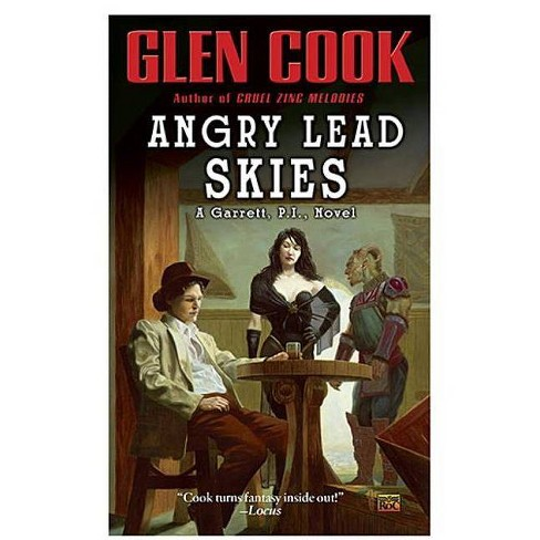Angry Lead Skies - (Garrett P.I.) by  Glen Cook (Paperback) - image 1 of 1