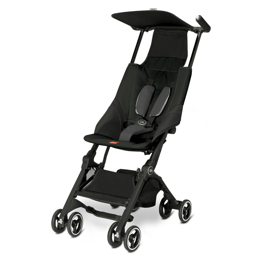 Image of Gb Pockit Compact Stroller - Monument Black