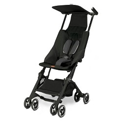 Gb Pockit Compact Stroller - Monument Black