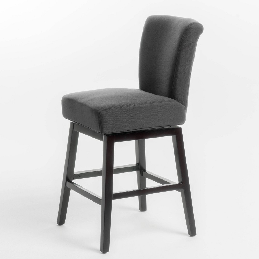 Admirable Tracy Swivel Counterstool Dark Charcoal Grey Christopher Pdpeps Interior Chair Design Pdpepsorg