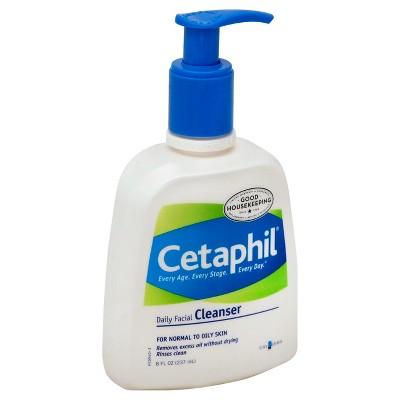 Cetaphil Daily Facial Cleanser - 8 Oz