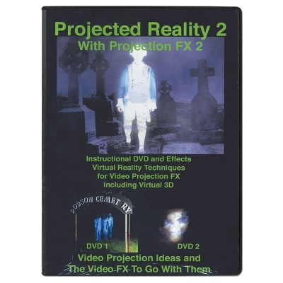 DVD Projected Reality Vol 2 Halloween Special Effect Lights