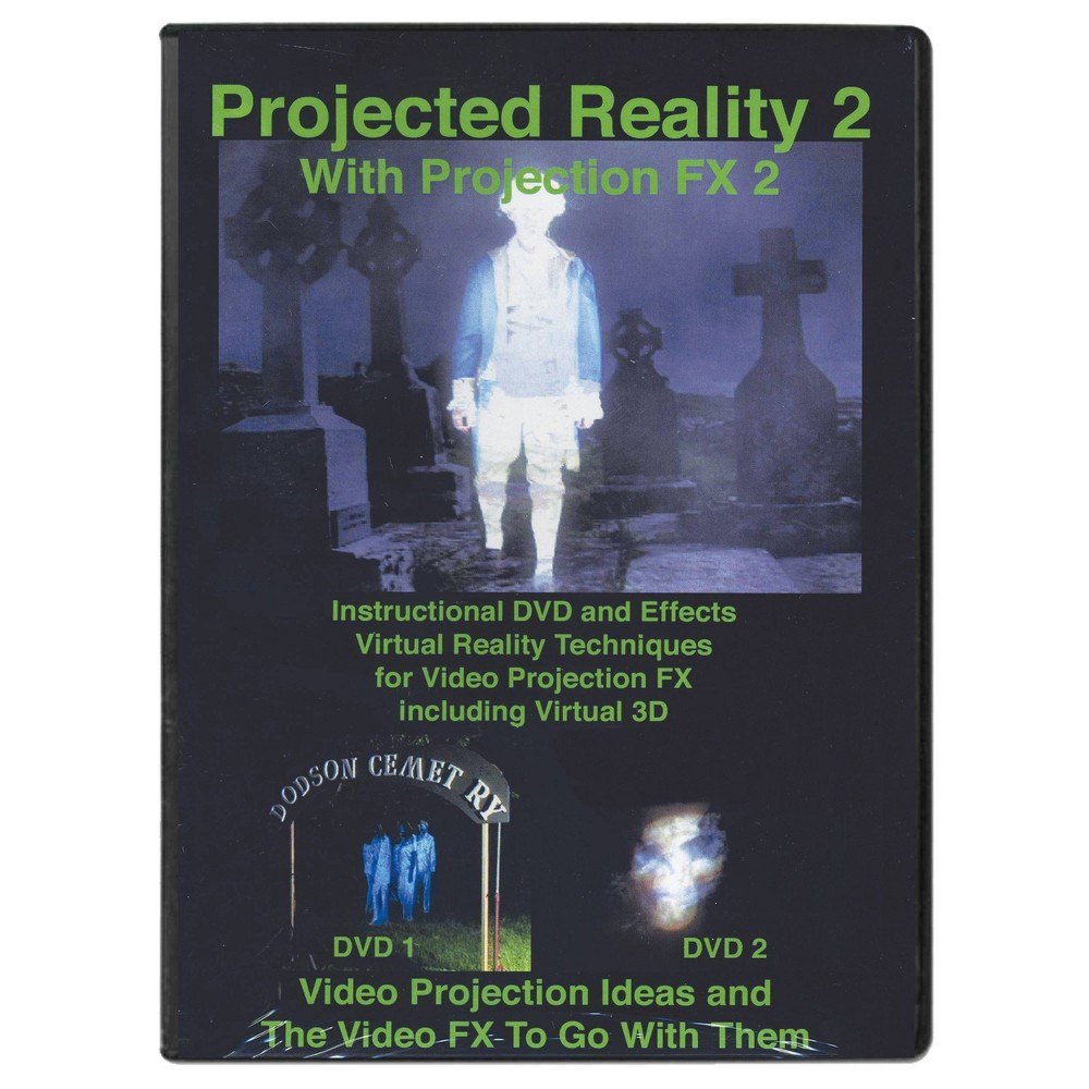 Image of DVD Projected Reality Vol 2 Halloween LED Special Effect Lights