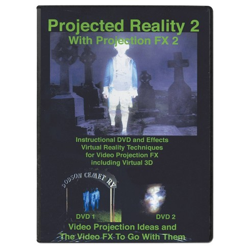 DVD Projected Reality Vol 2 Halloween LED Special Effect Lights - image 1 of 1