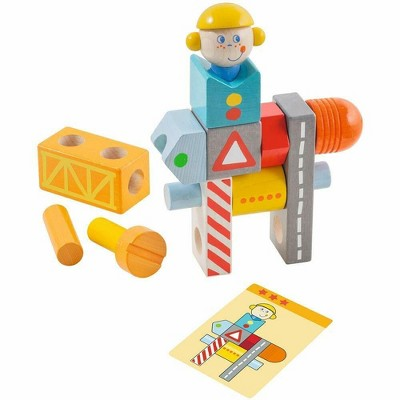 HABA Brain Builder Ben Stacking & Arranging Game for Ages 2-6
