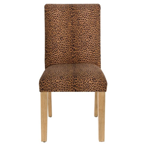 Hendrix Dining Chair - Cheetah Earth - Skyline Furniture - image 1 of 4