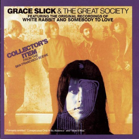 Great Society (The) - Grace Slick & The Great Society (CD) - image 1 of 1