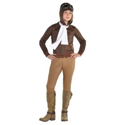 Kids' Amelia Earhart Girl Halloween Costume