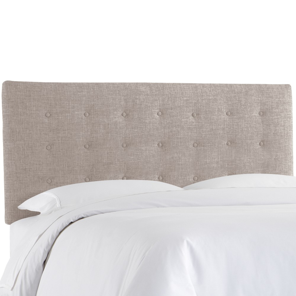 Low Price Upholstered Button Headboard Queen Zuma Feather Skyline Furniture