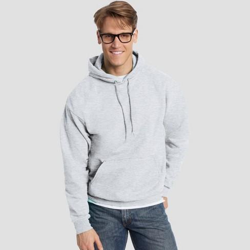 f27bd717 Hanes Men's EcoSmart Fleece Pullover Hooded Sweatshirt : Target
