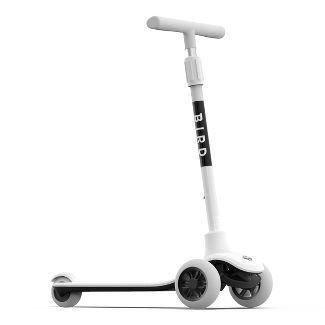 Bird Birdie 3 Wheel Kick Scooter - Dove White