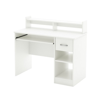 Axess Wood Computer Desk with Hutch Tray - South Shore