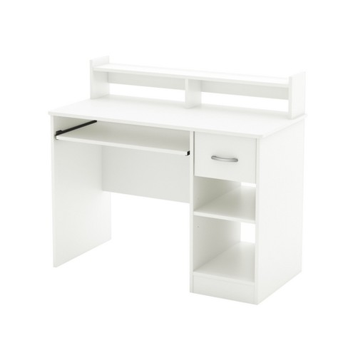 Axess Wood Computer Desk with Hutch Tray - South Shore - image 1 of 4