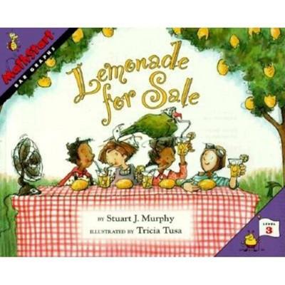Lemonade for Sale - (Mathstart 3) by  Stuart J Murphy (Paperback)