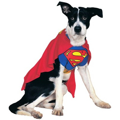 Rubies Superman Dog Costume