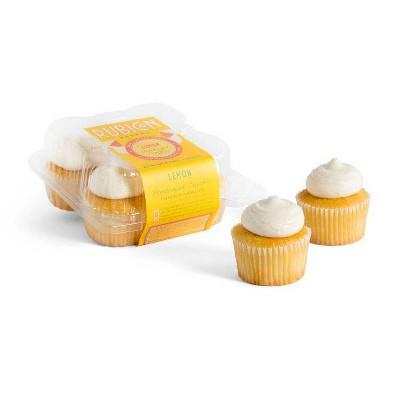 Rubicon Bakery Lemon Cupcakes - 10oz/4ct