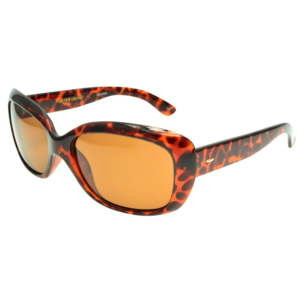 0016959935 UPC 031568435669 product image for Women s Foster Grant Polarized Oval  Cateye Sunglasses - Brown