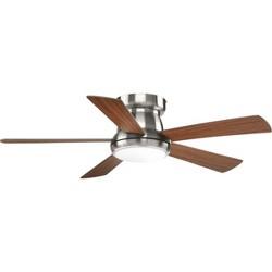 """Progress Lighting Vox 56 Vox 52"""" 5 Blade Hugger Ceiling Fan"""