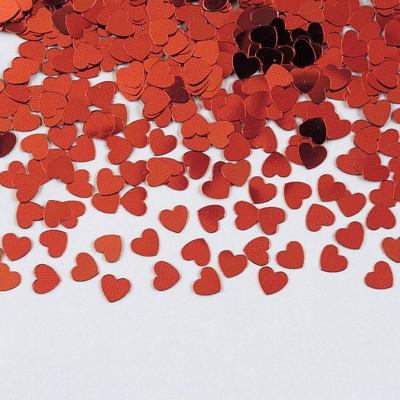 3ct Red Heart Confetti