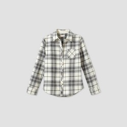 Girls' Long Sleeve Woven Button-Down Shirt - Cat & Jack™