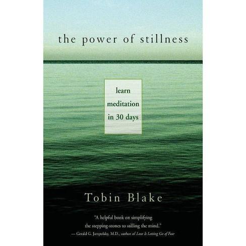 The Power of Stillness - by  Tobias Blake & Tobin Blake (Paperback) - image 1 of 1
