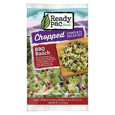Ready Pac Foods BBQ Ranch Chopped Salad Kit - 11.5oz - image 1 of 1