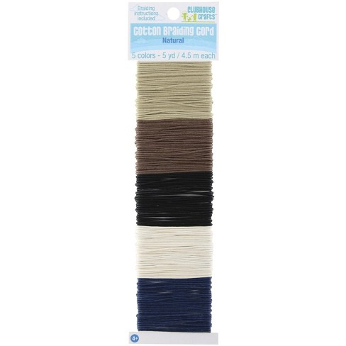 Sulyn Cotton Braiding Cord, Assorted Natural Colors, 25 Yards - image 1 of 1