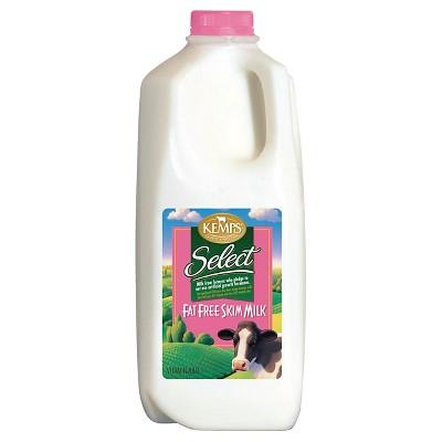 Kemps Skim Milk - 0.5gal