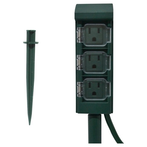 Westinghouse 3 Outlet Outdoor Mini Ground Stake