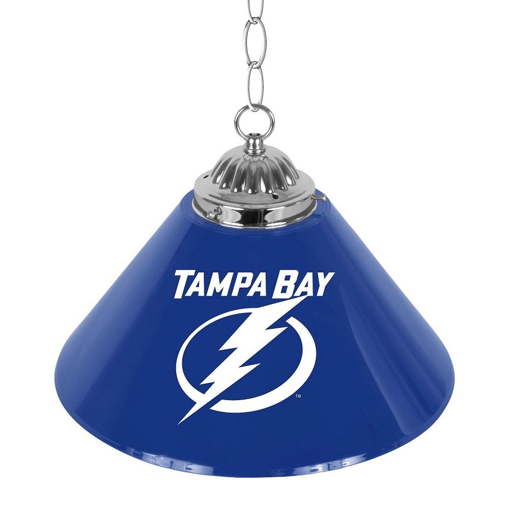 Tampa Bay Lightning Single Shade Bar Lamp - 14 inch